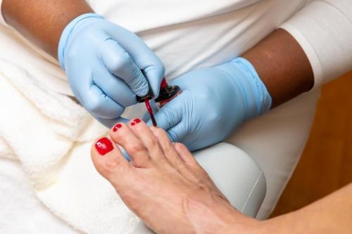 Fußpflege bei Hilda